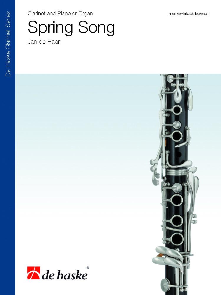 Jan de Haan: Spring Song: Clarinet: Score