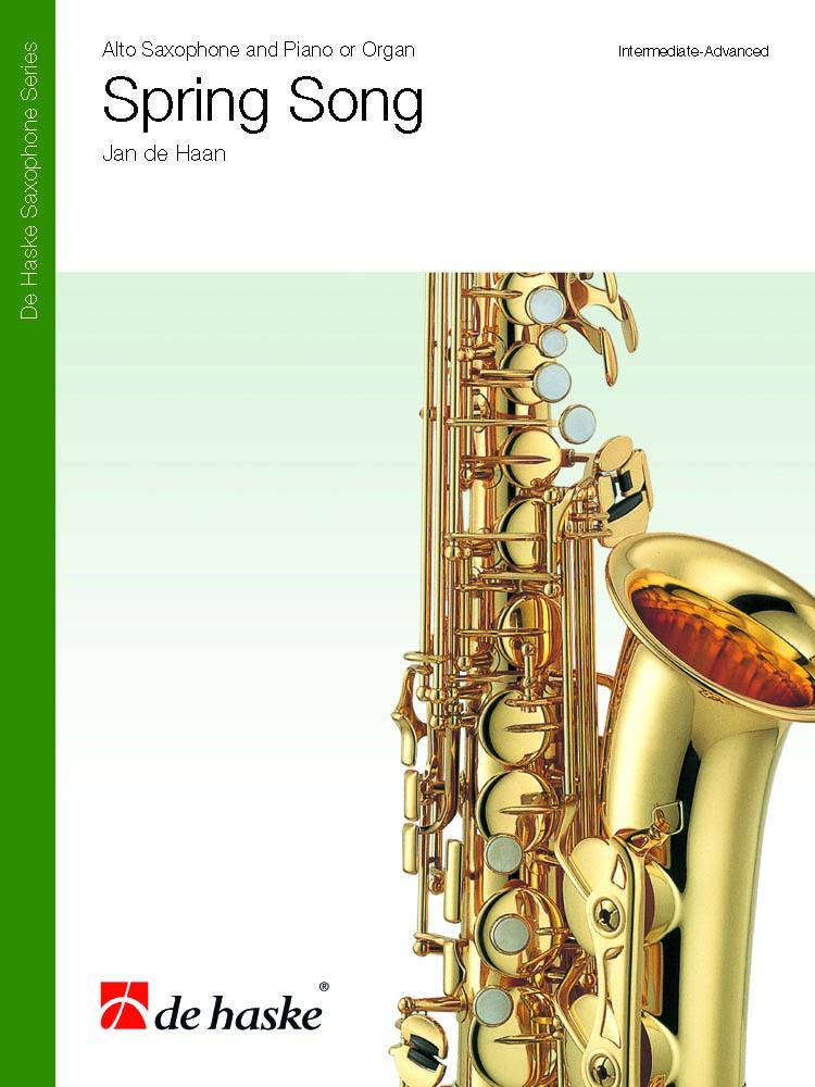Jan de Haan: Spring Song: Saxophone: Score