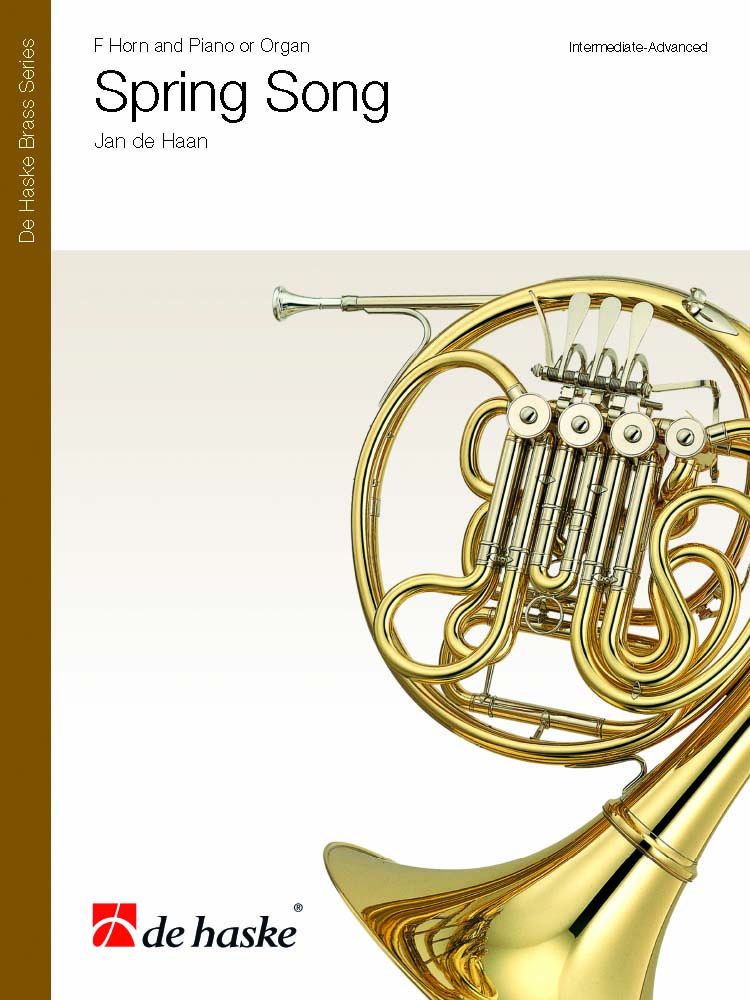 Jan de Haan: Spring Song: Horn: Score