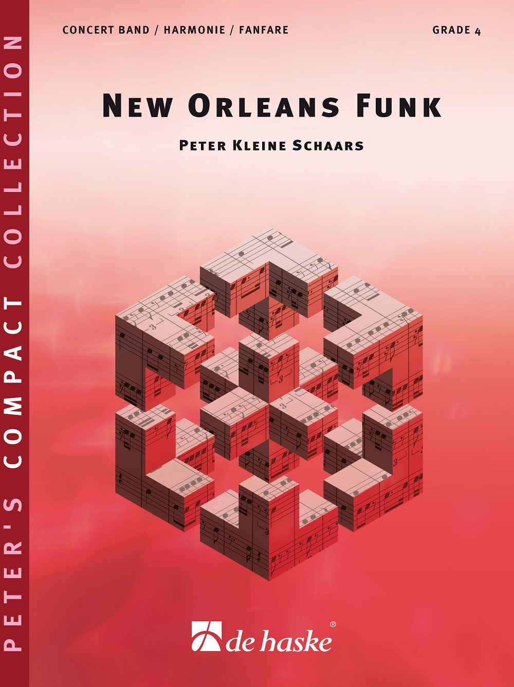 Peter Kleine Schaars: New Orleans Funk: Concert Band: Score and Parts