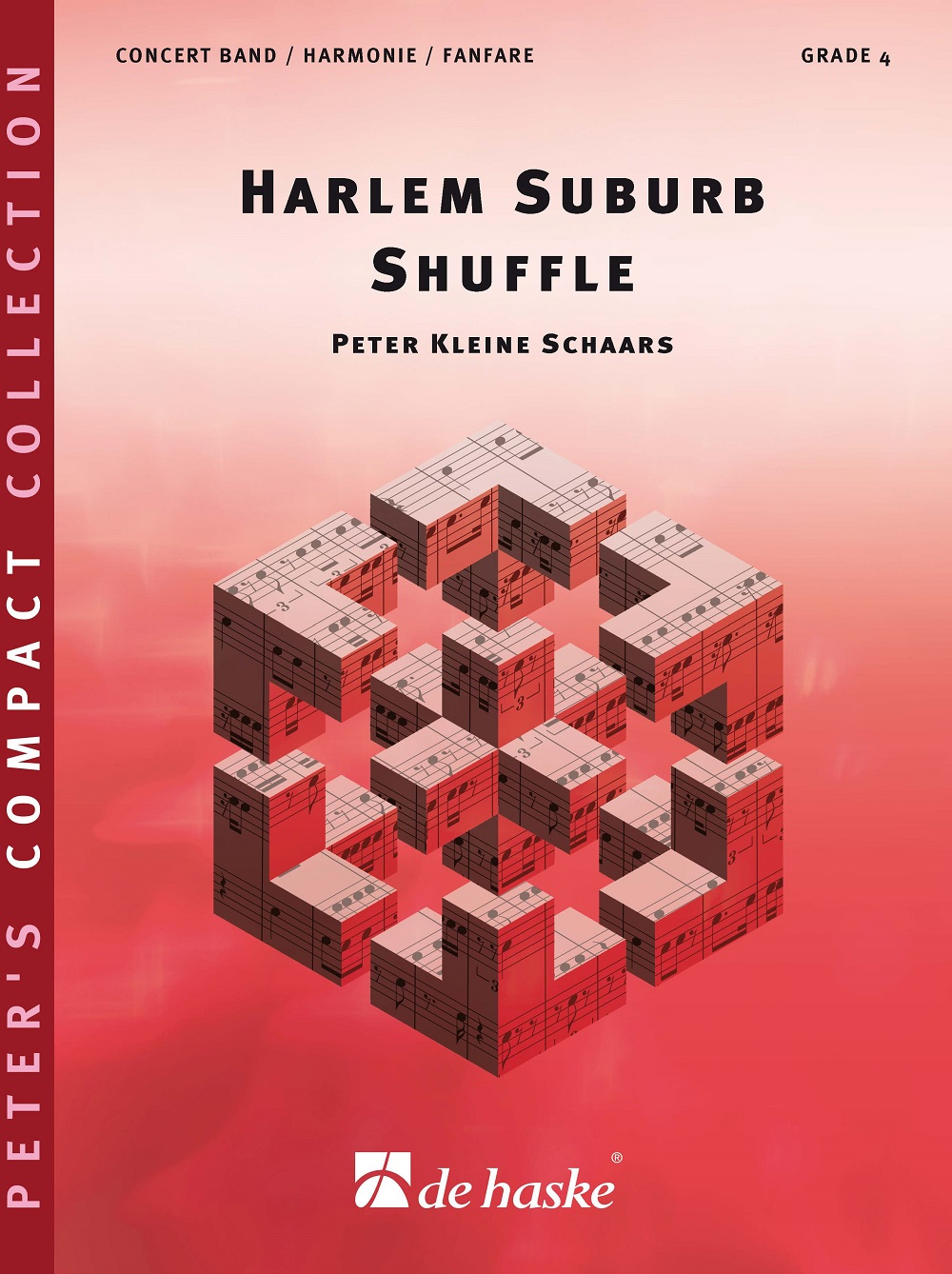 Peter Kleine Schaars: Harlem Suburb Shuffle: Concert Band: Score and Parts