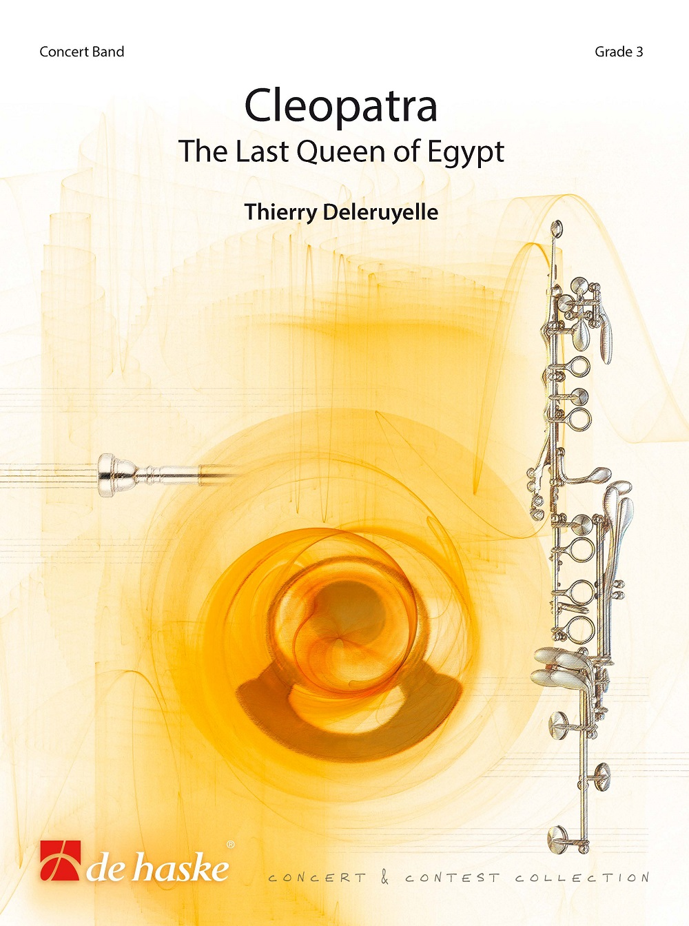 Thierry Deleruyelle: Cleopatra: Concert Band: Score