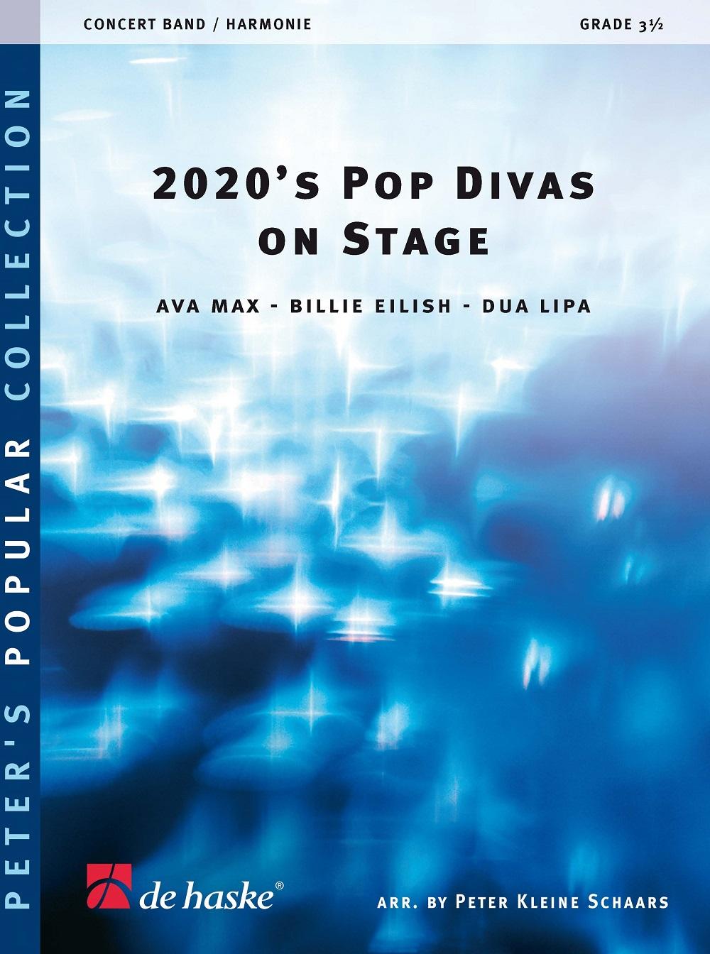 2020's Pop Divas on Stage: Concert Band: Score & Parts