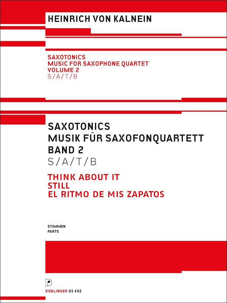 Heinrich von Kalnein: Saxotonics: Woodwind Ensemble: Parts