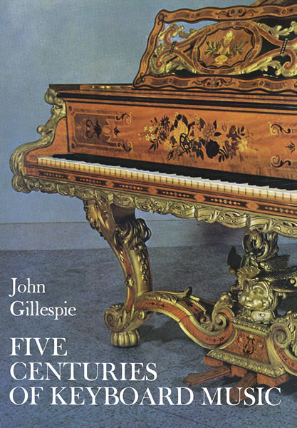 D. Gillespie: Five Century Of Keyboard Music: Instrumental Reference