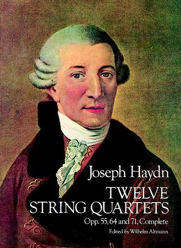 Franz Joseph Haydn: Twelve (12) String Quartets: String Quartet: Score
