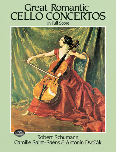 Great Romantic Cello Concertos: Cello: Score
