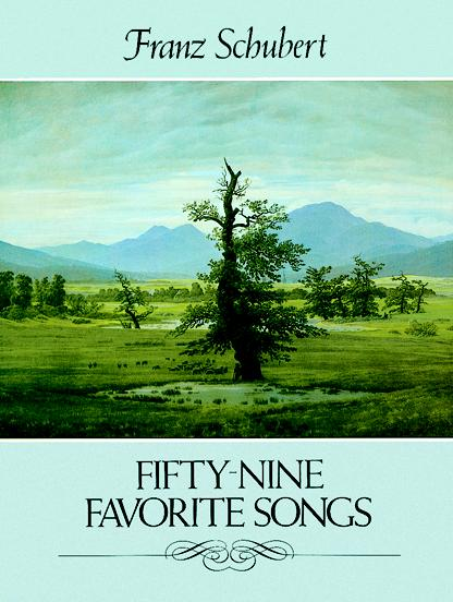 Franz Schubert: Fifty-nine Favorite Songs: Voice: Mixed Songbook