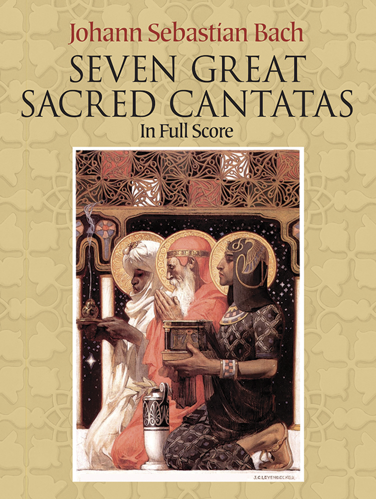 Johann Sebastian Bach: Seven Great Sacred Cantatas: SATB: Score