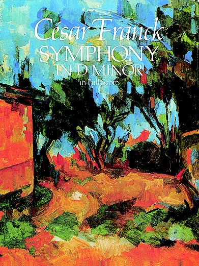 Cesar Franck Symphony In D Minor Orch (Dover Music Scores)