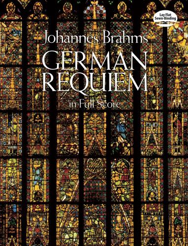 German Requiem in Full Score (Dover Vocal Scores)