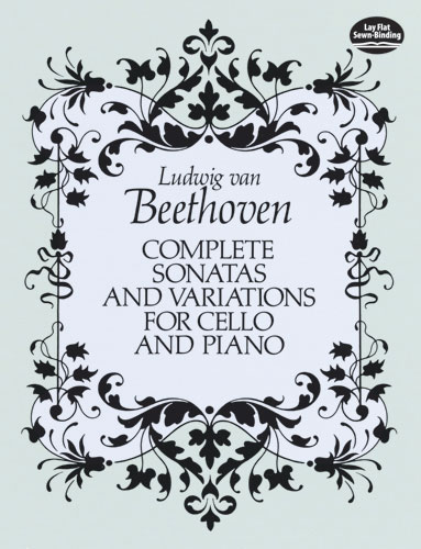 Ludwig van Beethoven: Sonate E Variazioni: Cello: Score