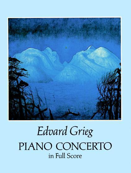 Edvard Grieg: Piano Concerto: Orchestra: Score