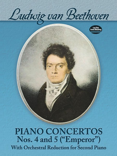 Ludwig Van Beethoven: Piano Concertos Nos. 4 And 5 ('Emperor') For Two Pianos (Dover Music for Piano)