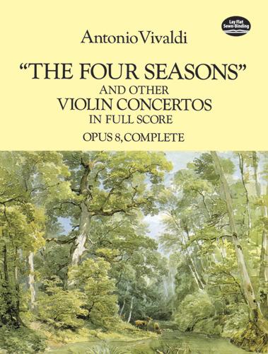 Antonio Vivaldi: Four Seasons And Other Violin Concertos: Violin: Score