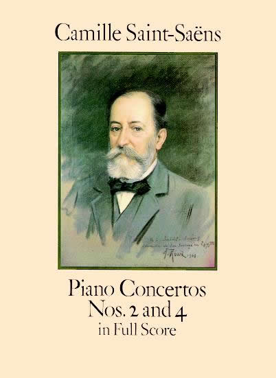 Camille Saint-Saëns: Piano Concertos Nos. 2 And 4 In Full Score: Piano: Score