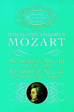 Symphony No.40 in G Minor (Dover miniature scores)