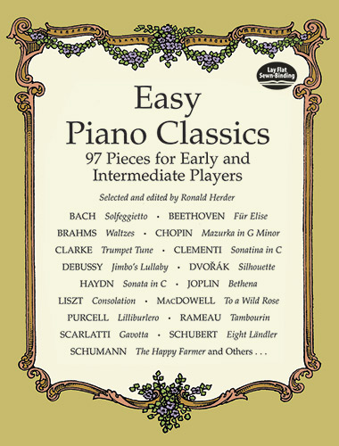 Herder: Easy Piano Classics 97 Pieces For Early: Piano: Instrumental Album