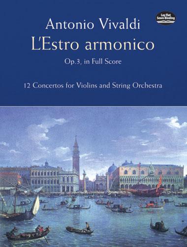 Antonio Vivaldi: L'Estro Armonico Op.3: Orchestra: Score