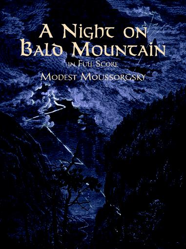 Modest Mussorgsky: A Night On Bald Mountain: Piano: Score
