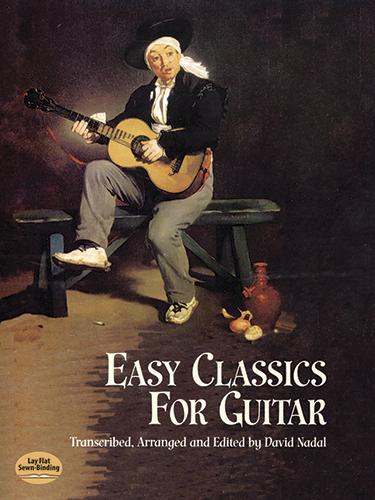 David Nadal: Easy Classics For Guitar: Guitar: Instrumental Album