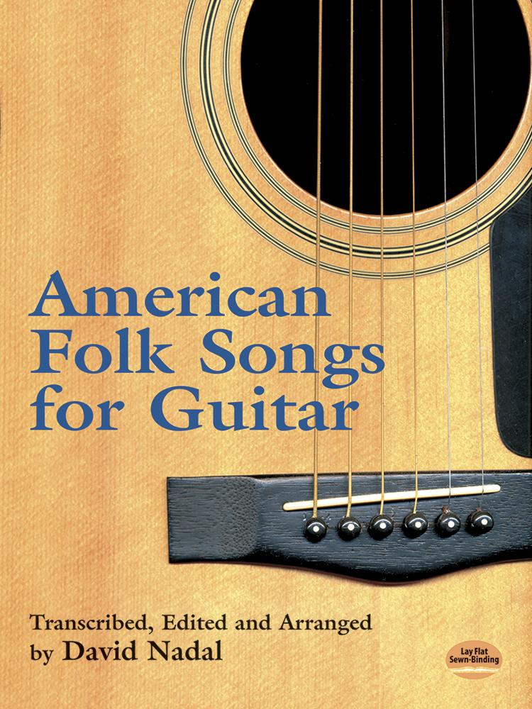 American Folk Songs For Guitar (Nadal D.): Guitar: Instrumental Album