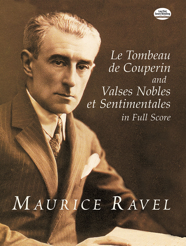 Maurice Ravel: Tombeau De Couperin And Valses Nobles Et: Orchestra: Score