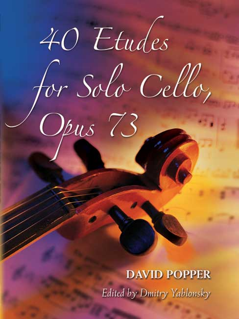 David Popper: 40 Etudes Opus 73: Cello: Study