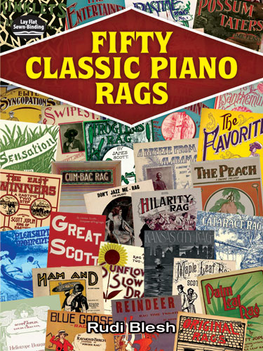Rudi Blesh: Fifty Classic Piano Rags: Piano: Instrumental Album