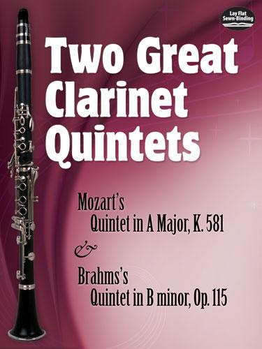 Wolfgang Amadeus Mozart: Great Clarinet Quintets(2): Woodwind Ensemble: Score