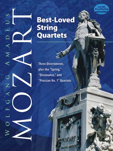 Wolfgang Amadeus Mozart: Best Loved Stringquartets: String Ensemble: Score