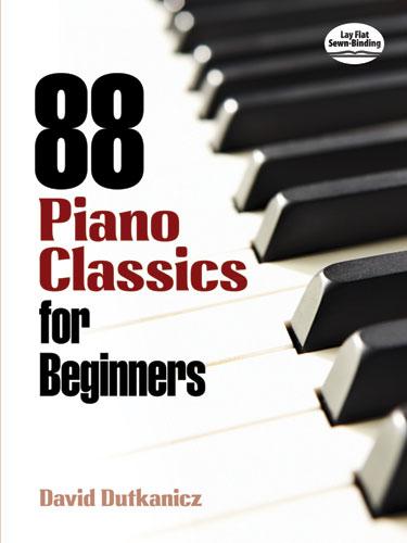 David Dutkanicz: 88 Piano Classics For Beginners: Piano: Instrumental Album
