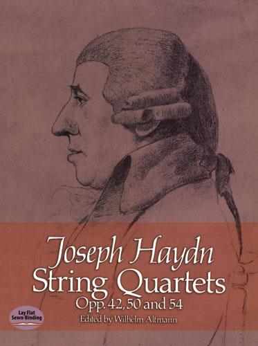 Franz Joseph Haydn: String Quartets Opp. 42  50 And 54: String Quartet: Score
