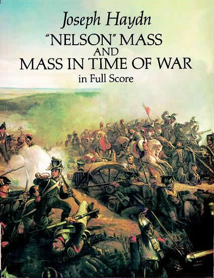 Franz Joseph Haydn: Nelson Mass And Mass In Time Of War In Full Score: Voice: