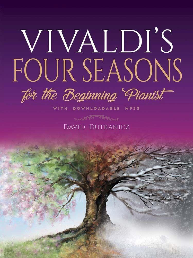 Antonio Vivaldi: Vivaldi's Four Seassons For The Beginning Pianist: Piano: