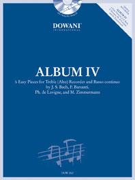 Johann Sebastian Bach Francesco Barsanti Manfredo Zimmermann Philibert de