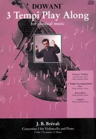 Jean-Baptiste Breval: Concertino I for Violoncello and Piano in F: Cello