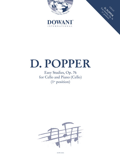 David Popper: Easy Studies  Op. 76: Cello