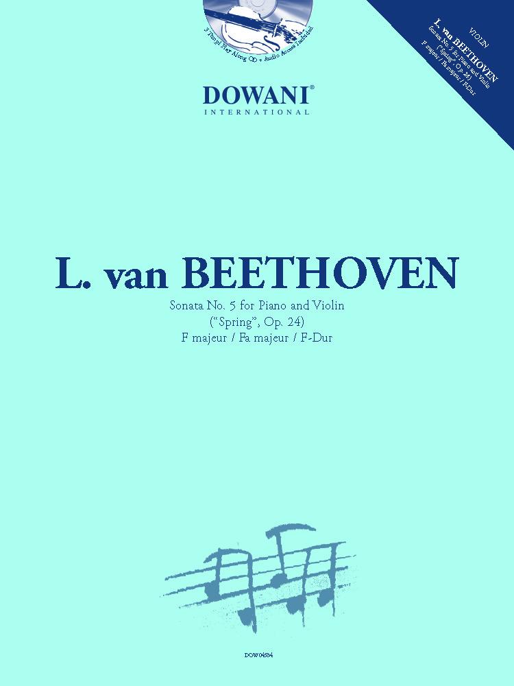 Ludwig van Beethoven: Sonata No. 5 for Piano and Violin: Violin and Accomp.: