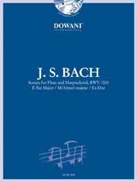 Johann Sebastian Bach: Sonata For Flute And Harpsichord In E Flat: Flute: