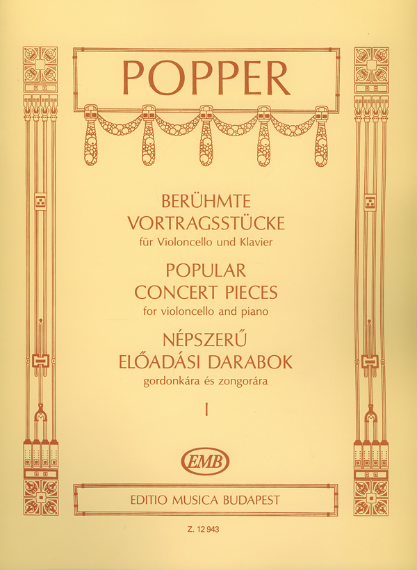 David Popper: Berühmte Vortragsstücke I: Cello: Instrumental Album