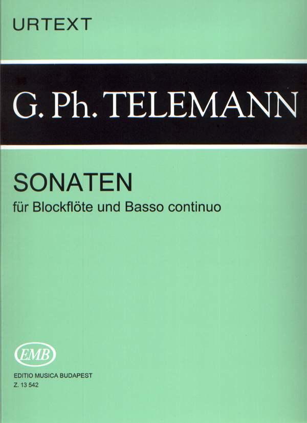 Georg Philipp Telemann: Sonatas for Recorder and Continuo: Recorder: