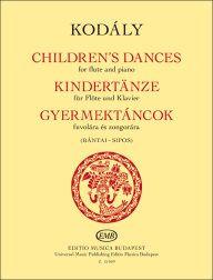 Zoltan Kodaly: Children's Dances: Flute: Instrumental Album