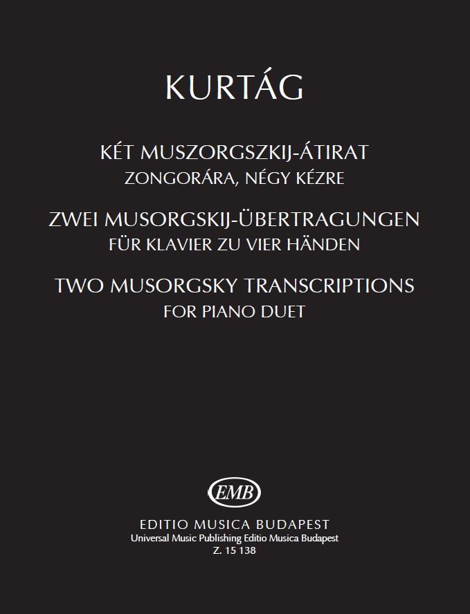 Kurtag Gyorgy: Two Musorgsky Transcriptions: Piano Duet: Instrumental Album