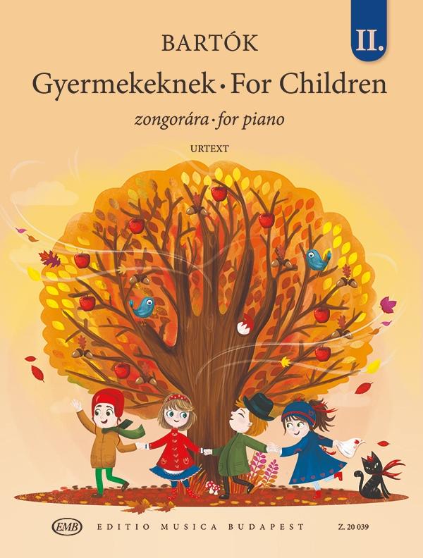 Béla Bartók: For Children Vol. 2: Piano Solo: Instrumental Album