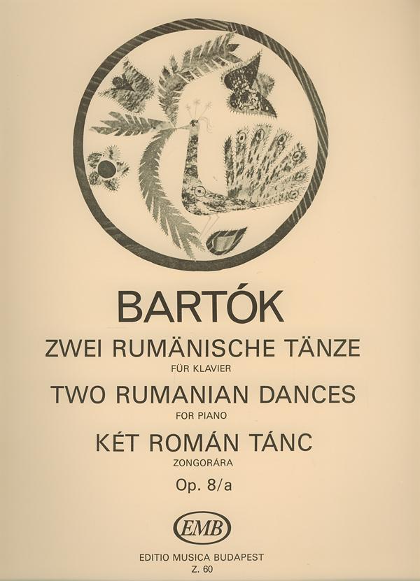 Béla Bartók: Two Rumanian Dances: Piano: Instrumental Album
