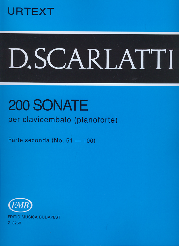 Domenico Scarlatti: 200 Sonate per clavicembalo (pianoforte) 2: Piano: