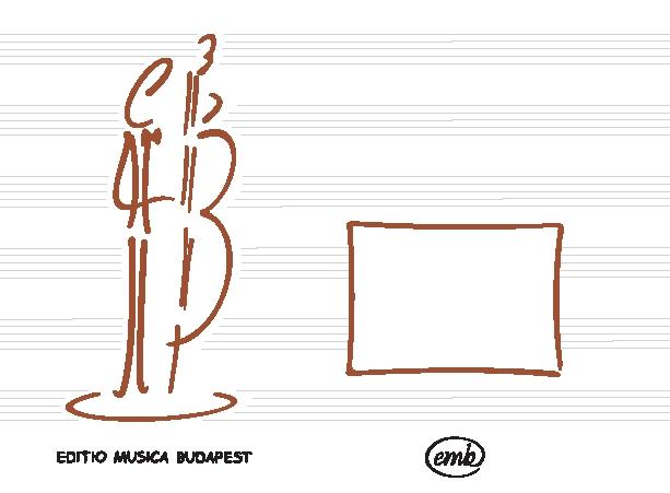 László Farkas Keönch: Music-book (Double bass): Manuscript