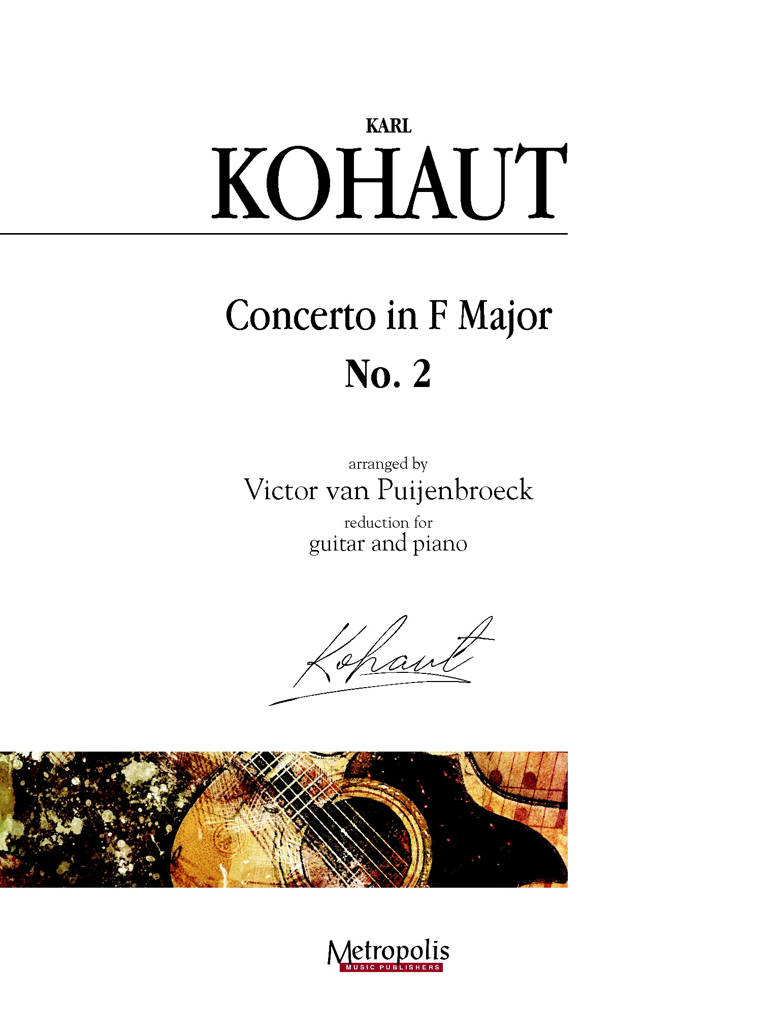 Karl Kohaut: Concerto in F Major  No. 2: Orchestra: Score and Parts