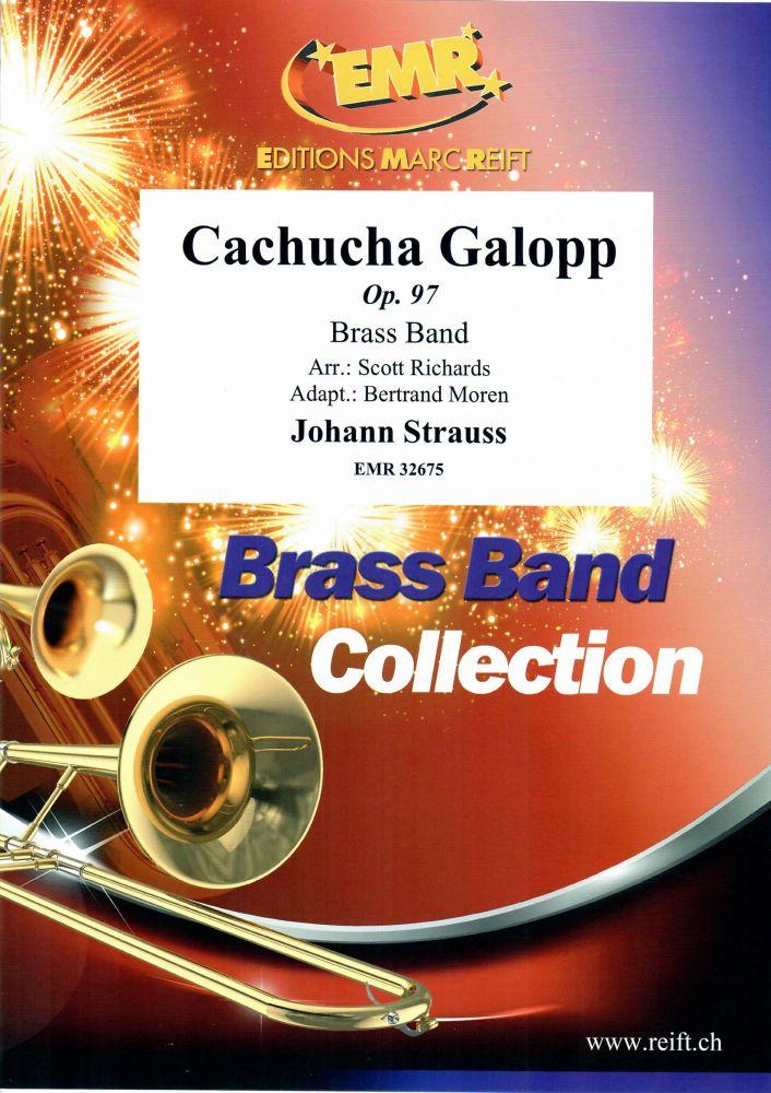 Johann Strauss: Cachucha Galopp Op. 97: Brass Band: Score and Parts